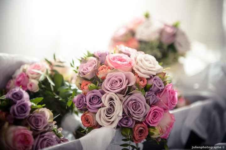 De quelles couleurs seront les fleurs de ton mariage ? - 1