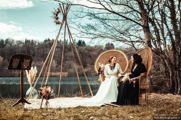 Découvre les magnifiques photos de ce mariage en plein air ! - 1