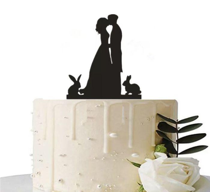 Mon cake topper 6