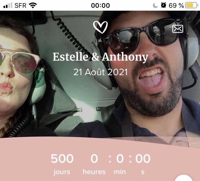 Nous nous marions le 21 Août 2021 - Paris 1