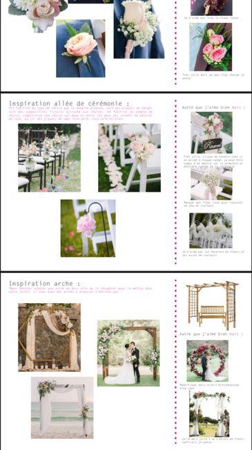 Planches inspirations fleuriste 💐 2