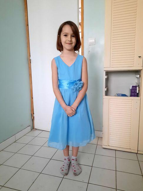 Robes petites fille d'honneur 1