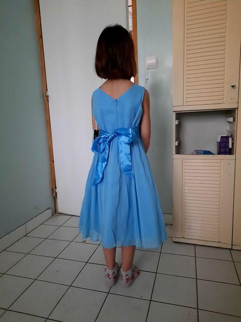 Robes petites fille d'honneur 2