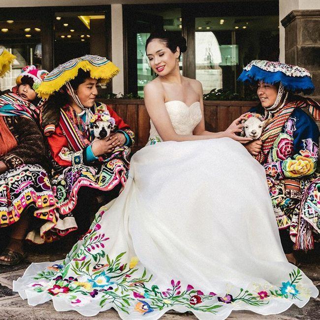 Un mariage haut en couleur, un peu, beaucoup, passionnément, à la folie, pas du tout ? 18