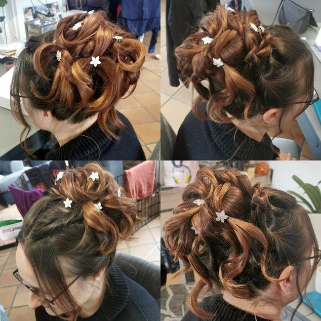 Longueur cheveux & chignon 15