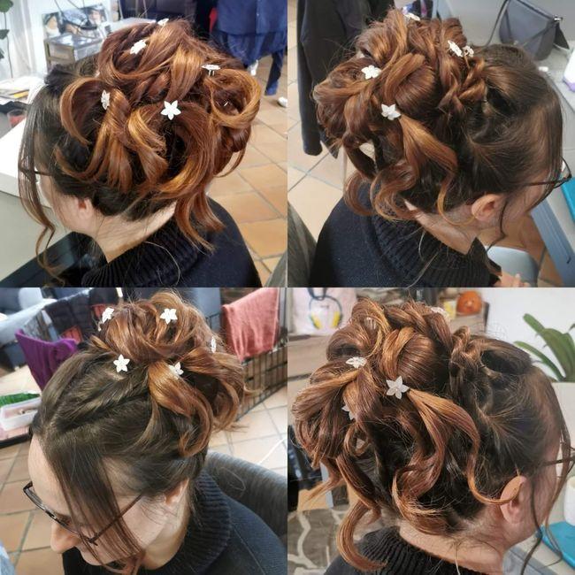 Test coiffure - avez vous fait plusieurs essais avant le jour j ? 6