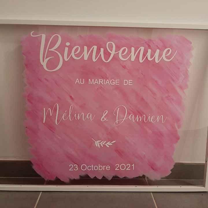 """Panneau """"bienvenue """" - 1"""