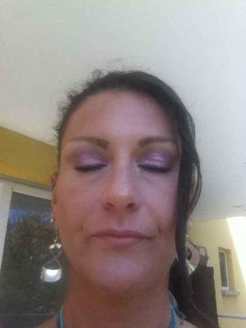 Mon second essai maquillage !!! - 1