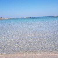 Plage d'Elafonissi le sable est rose splendide