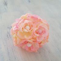petite boule de fleurs que j'ai perlé