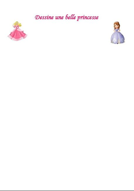 Livret jeux & coloriages filles - page 4