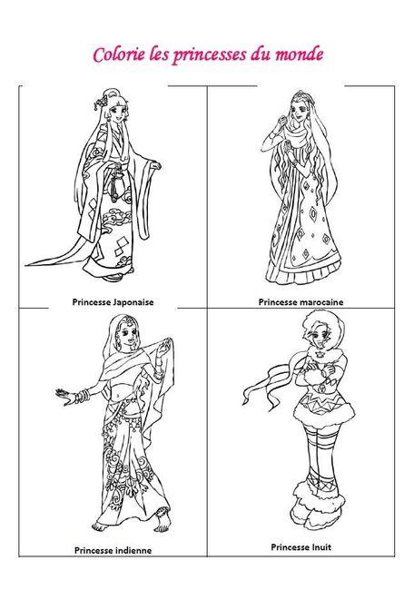 Livret jeux & coloriages filles - page 5
