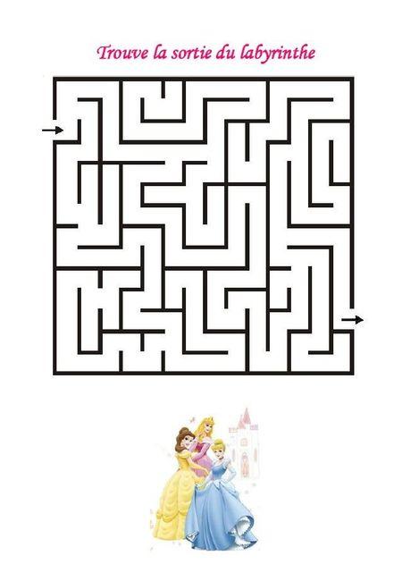 Livret jeux & coloriages filles - page 8