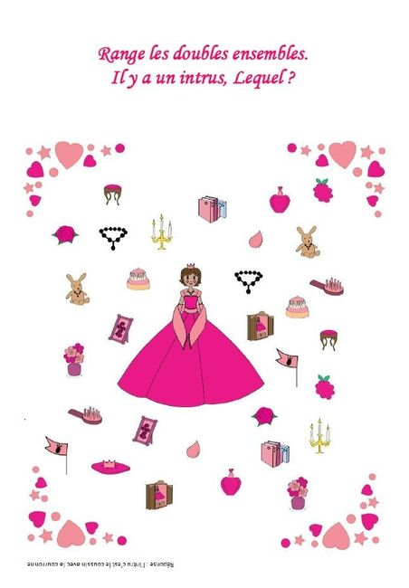 Livret jeux & coloriages filles - page 17