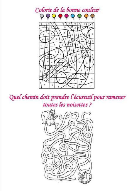 Livret jeux & coloriages filles - page 20