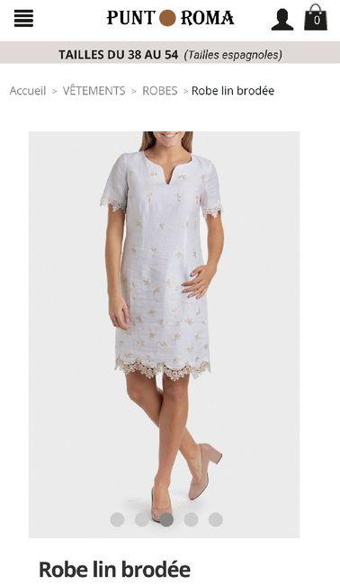 Aide pour agrémenter la robe de ma maman 1