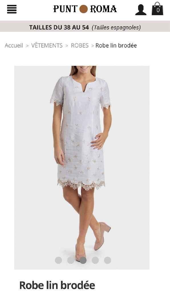Aide pour agrémenté la robe de ma maman - 1