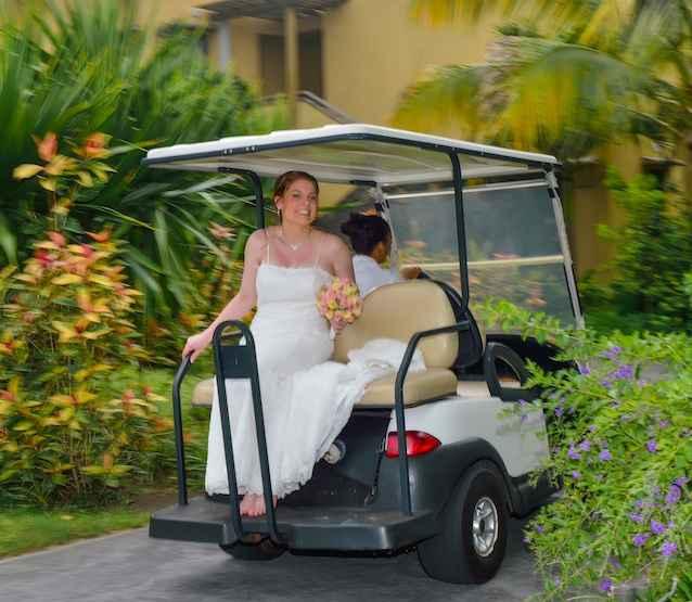 voiture de golf
