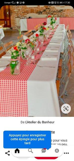 Deco de table - 2