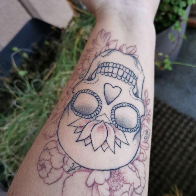 Verra-t-on tes tatouages le jour du mariage ? 4