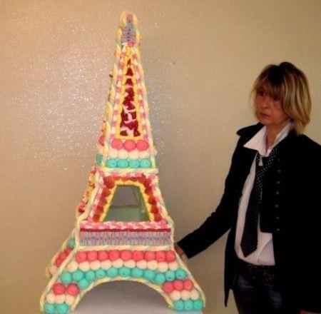 Pièce montée Macarons Tour Eiffel n°2