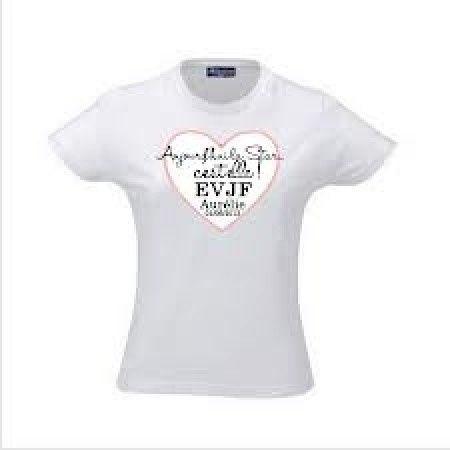 Relativ Créer des tee-shirts personnalisés pour son evjf - Avant le  LP27