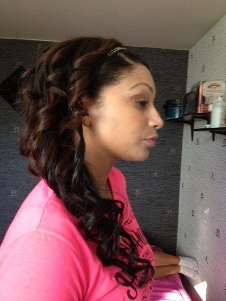 Mon essai coiffure (profil droit)
