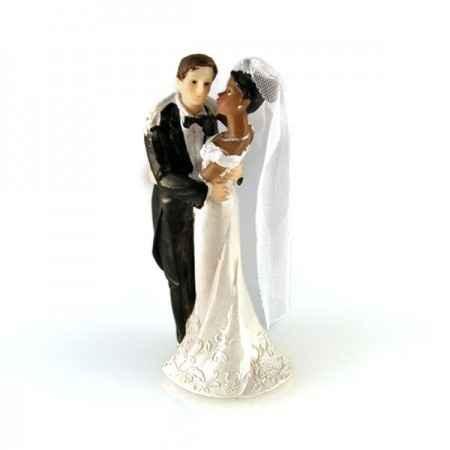 Figurine mariés mixte
