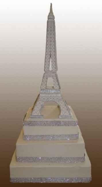 Pièce Montée Tour Eiffel Diamant