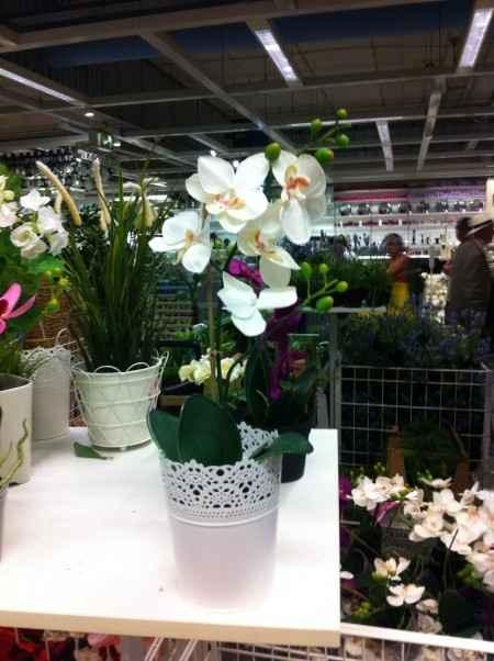 """Nos centres de table """"orchidées"""""""