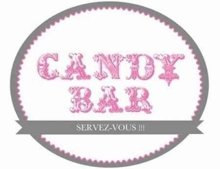 Pancarte Candy Bar