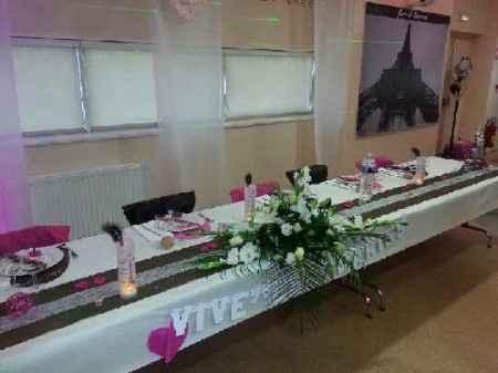 Notre table d'honneur