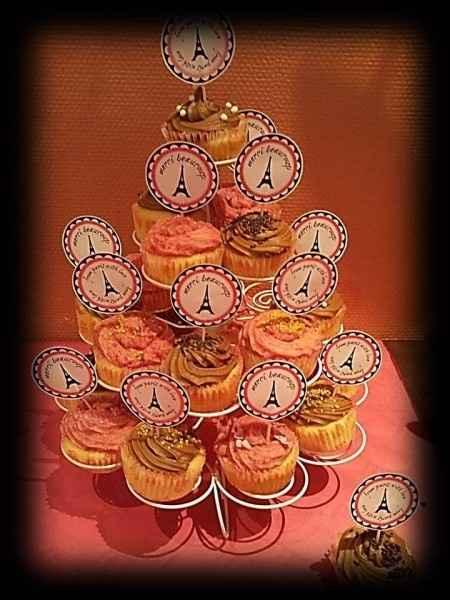 Nos cupcakes nutella et framboise