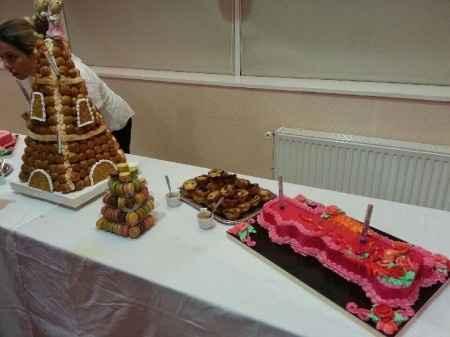Notre buffet pièce montée   gâteau Portugal