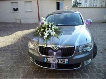 Notre voiture de mariés