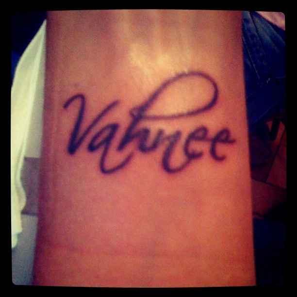Tatouage prénom de ma fille