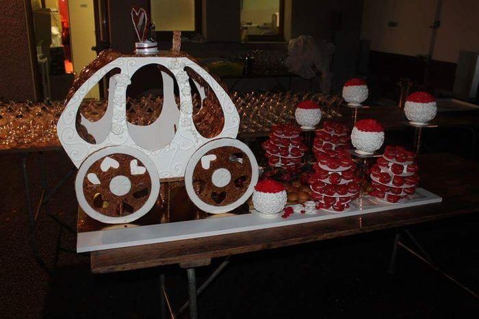 La photo de nos desserts: pièces montées, wedding cake ou buffet!! - 1