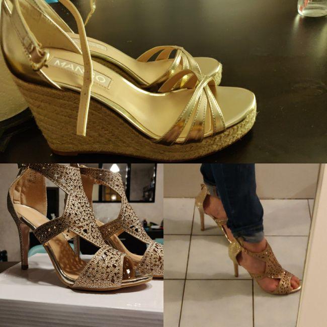 La couleur de tes chaussures pour le grand jour ? 3
