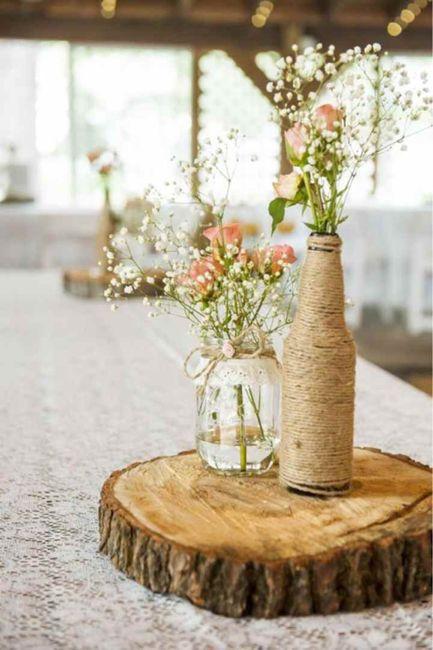 Mariage champêtre romantique 7