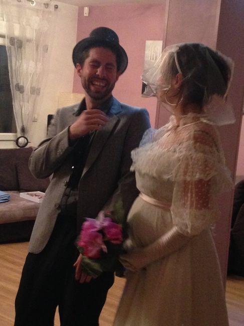 Notre Vrai-Faux mariage 1