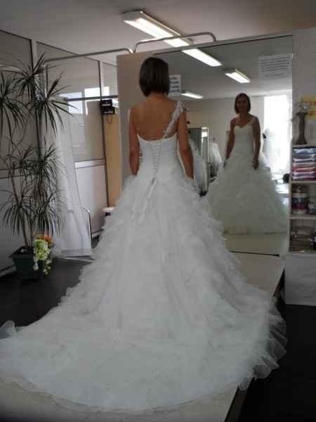 Le dos de la robe