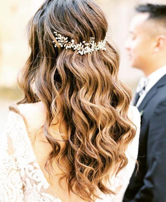 Quelle coiffure tu auras à ton mariage ? 👸 1