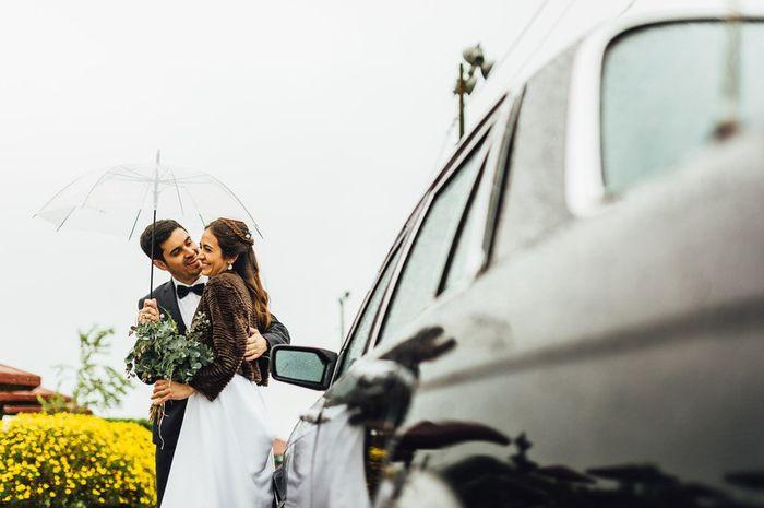 Marié(e)s sous la pluie... 🌂 1