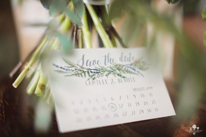 Save the date : en quelle année tu te maries ? 📅 1