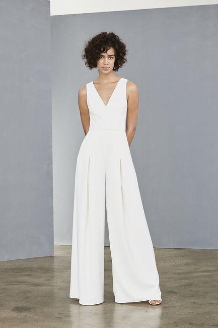 Le look de mariée en pantalon 😍 5