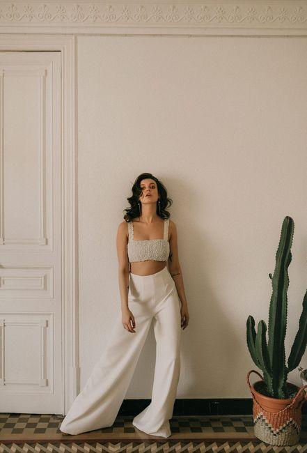 Le look de mariée en pantalon 😍 4