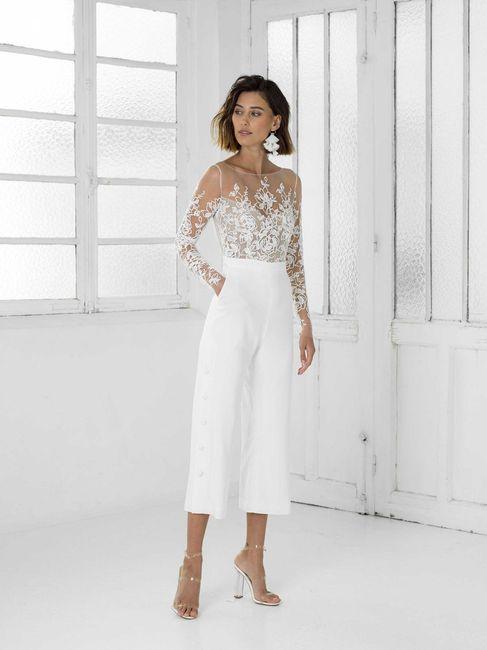 Le look de mariée en pantalon 😍 7