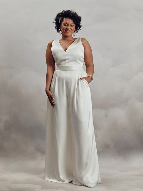 Le look de mariée en pantalon 😍 6