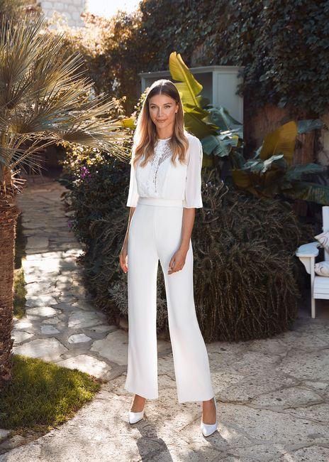 Le look de mariée en pantalon 😍 3
