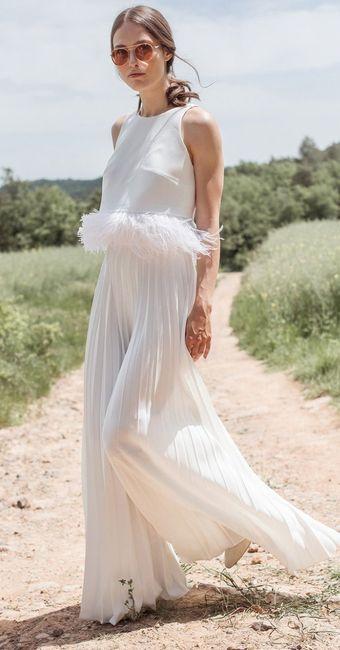 Le look de mariée en pantalon 😍 2